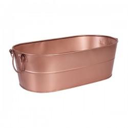 Moda Brooklyn 530 x 290 x 170mm Beverage Tub Copper Satin