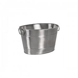 Moda Brooklyn 360 x 270 x 220mm Beverage Tub Stainless Steel Oval Matt Finish