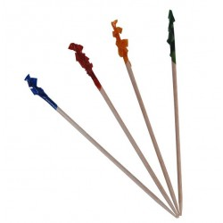 One Tree Regular Frilled Tooth Pick 70mm (1000)