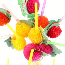 Flexible Fruit Straw (100)