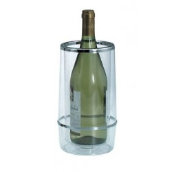 Wine Cooler 230 x 115mm Insulated Acrylic Clear Chef Inox