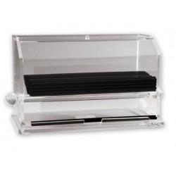 Straw Dispenser Acrylic for Standard Straws