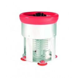 Glass Brush Single Aluminium Body w/Suction Cups