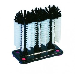Glass Brush Triple w/Suction Cups