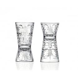 Tattoo Double Jigger 30 / 60ml Clessidra Glass RCR (26983020006)