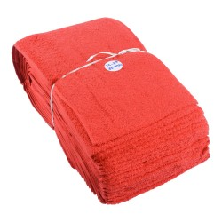 Bar Runner Terry Toweling 300mm x 35mt Roll Red