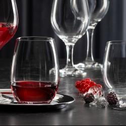 Pasabahce 570ml Amber Stemless Glass (24)