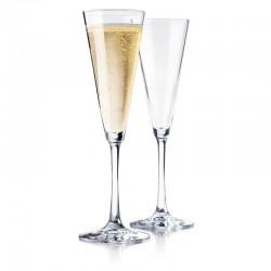 Libbey 192ml Vina Trumpet Flute Champagne Glass (12)