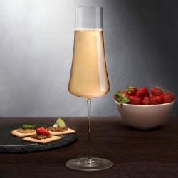 Nude 300ml Stem Zero Flute Champagne Glass (6)