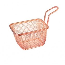 Moda Brooklyn 100 x 90 x 60mm Copper Rectangular Service Basket (6)