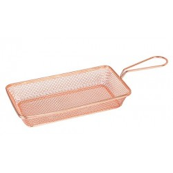 Moda Brooklyn 220 x 120 x 35mm Copper Rectangular Service Basket (6)