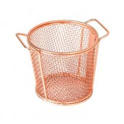 Moda Brooklyn 118 x 90mm Copper Round Service Basket (6)