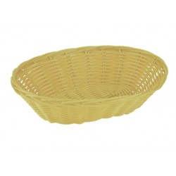 Bread Basket Oval 240 x 55mm Polyprop