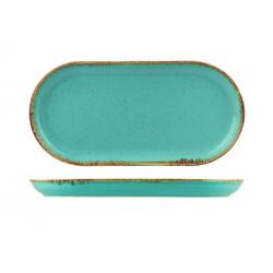 Oval Coupe Plate 295 x 145mm Narrow Seasons Sea Spray (6)