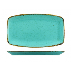 Rectangular Coupe Plate 310 x 185mm Seasons Sea Spray (6)