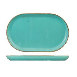 Wide Oval Plate 320 x 200mm Seasons Sea Spray (6)