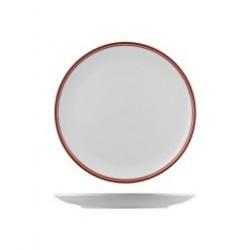 Nano Cru 270mm Round Coupe Plate Red (12)