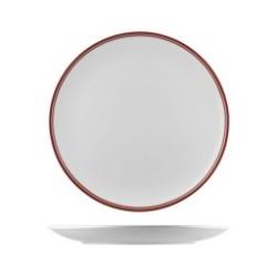 Nano Cru 310mm Round Coupe Plate Red (6)