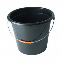 Oates Bucket 9L Round Black