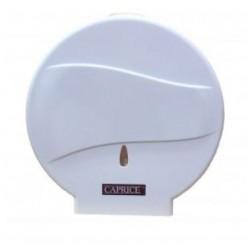 Caprice Jumbo Toilet Roll Dispenser White (ABS Plastic)