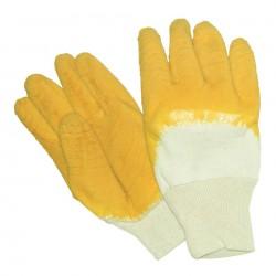 Glass Gripper Gloves Yellow