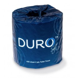 Caprice Duro 2ply 400 sheet Toilet Roll Individually Wrapped (48)