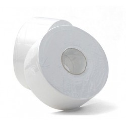 Caprice Green 1ply 500mt Recycled Jumbo Toilet Roll (8)