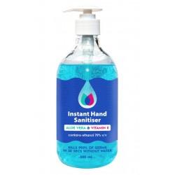 Instant Hand Sanitiser Blue Gel 500ml
