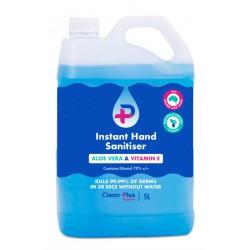 Instant Hand Sanitiser Blue Gel 5lt
