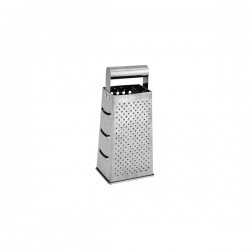 Grater 4 Sided S/S Hollow Handle