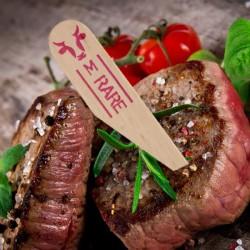 One Tree Steak Marker Paddle Medium Rare (200)