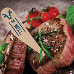 One Tree Steak Marker Paddle Medium Well (200)
