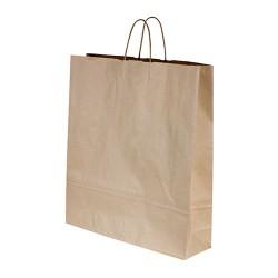 Capri Paper Carry Bag Kraft with Twist Handle 350x260x90mm (250)