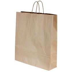 Capri Paper Carry Bag Kraft with Twist Handle 500x450x125mm (250)