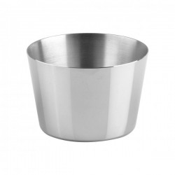 Chef Inox 75 x 42mm Stainless Pudding Mould (10)