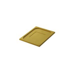 Lid 1/1 Size Yellow Gastronorm Polyprop Inox Macel