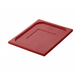 Lid 1/1 Size Red Gastronorm Polyprop Inox Macel