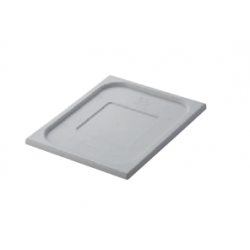 Lid 1/1 Size White Gastronorm Polyprop Inox Macel