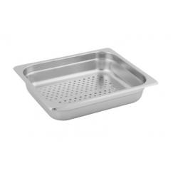 Anti-Jam 1/2 Size Perforated Steam Pan