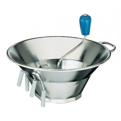 Food Mill 320mm Stainless Steel With 3 Blades (1.5/2.5/4mm) Paderno