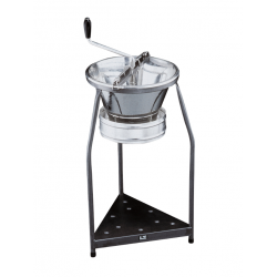 Food Mill 370mm Tinned With 3 Blades (1.5/2.5/4mm) + Stand Paderno
