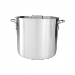 Stock Pot 120.0lt w/Cover 495 x 550mm Aluminium