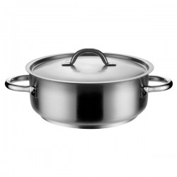 Casserole 27.0lt w / Cover 170 x 450mm Pujadas Stainless Steel