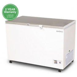 Bromic 296lt Chest Freezer Stainless Steel Top