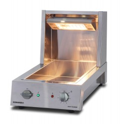 Roband Multi Function Chip & Food Warmer w/Sloped Tray
