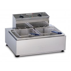 Roband 11lt Countertop Single Pan Double Basket Fryer