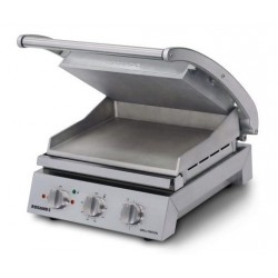 Roband Grill Station 8 Slice Ribbed Top Plate Smooth Bottom Plate