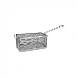 Fry Basket Rectangular 200 x 155 x 150mm Chrome Plated