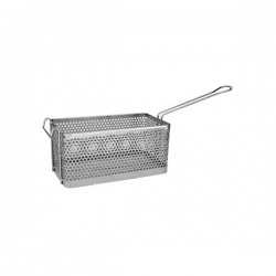 Fry Basket Rectangular 325 x 175 x 150mm Chrome Plated