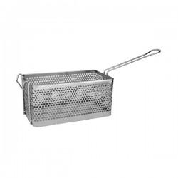 Fry Basket Rectangular 375 x 138 x 150mm Chrome Plated